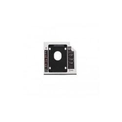 Rack HDD Caddy pentru laptop grosime 12.7mm interfata SATA la SATA, RACK-CADDY/HDD/12.7-02BK