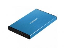 Rack extern HDD Natec Rhino Go, SATA - USB 3.0, 2.5inch, Blue