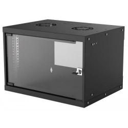 Rack Intellinet 714143, 19inch/6U, 540x400mm, Black