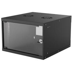 Rack Intellinet 714785, 19inch, 6U, 540x560mm, Black