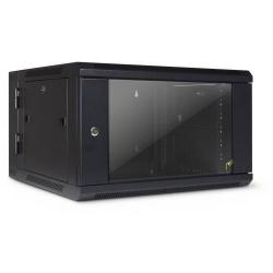 Rack Inter-Tech SMB-6606, 19inch, 6U, 600x600mm, Black