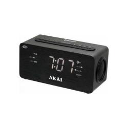 Radio cu ceas Akai ACR-2993, Bluetooth, Black