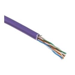 Rola Cablu U/UTP cat.5e, manta LSZH, Euroclass Dca-s1,d1,a1 - 305m/cutie, violet - Molex