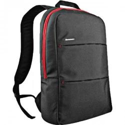 Rucsac Lenovo Simple Backpack pentru Laptop de 15.6inch, Black-Red