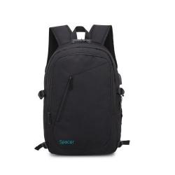 Rucsac Sapcer pentru laptop de 15.6inch, Black