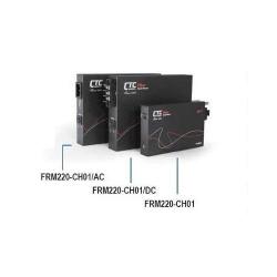 Sasiu fibra optica 1 slot cu alimentare externa AC | CTC Union | FRM220-CH01