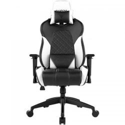 Scaun gaming Gamdias Achilles E1 L, RGB, Black-White