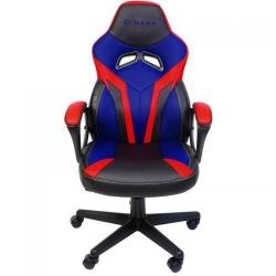Scaun gaming Inaza Hero, Black-Blue-Red