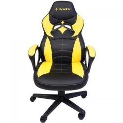 Scaun gaming Inaza Knight, Black-Yellow