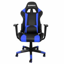 Scaun Gaming RAIDMAX Drakon DK-702BU, Black-Blue