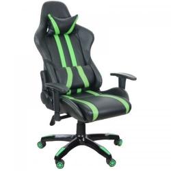 Scaun gaming Spacer GR168, Black-Green