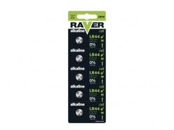 Set baterii buton alcalina 1,5V - 5buc AG13, LR44, LR1154, 357, A76 BAT-LR44-BL5-RV