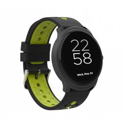 Smartwatch Canyon Oregano, 1.3inch, Curea Silicon, Black-Green