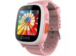 Smartwatch Elari FixiTime 3, 1.3inch, Curea Silicon, Pink