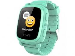 Smartwatch Elari KidPhone 2, 1.4inch, curea silicon, Green