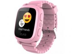 Smartwatch Elari KidPhone 2, 1.4inch, curea silicon, Pink
