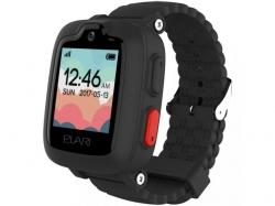 Smartwatch Elari KidPhone 3G, 1.3inch, curea silicon, Black