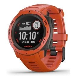 Smartwatch Garmin Instinct, 1.2inch, Curea silicon, Flame Red
