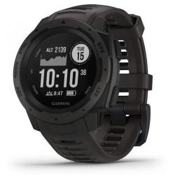Smartwatch Garmin Instinct, 1.2inch, Curea silicon, Graphite