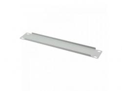 Solid Blank Panel Logilink, 10inch, 1U, Grey