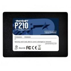 SSD Patriot P210, 256GB, SATA3, Black
