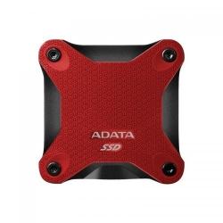 SSD Portabil ADATA SD600 256GB, USB 3.1, Red