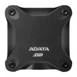 SSD portabil ADATA SD600Q, 480GB, USB 3.1, Black