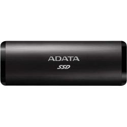 SSD portabil ADATA SE760, 256GB, USB 3.1 Tip C, Black