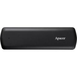 SSD portabil APACER AS721, 250GB, USB 3.2 Type-C, Black