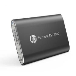 SSD portabil HP P500, 250GB, USB 3.1 tip C, Black