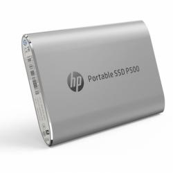 SSD portabil HP P500, 250GB, USB 3.1 tip C, Silver