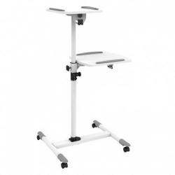 Stand Techly 309593 pentru videoproiector/laptop, White