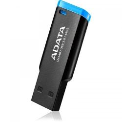 Stick Memorie A-Data Small Clip UV140 64GB, USB3.0 Black/Blue