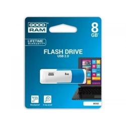 Stick memorie Goodram UCO2, 8GB, USB 2.0, Blue-White