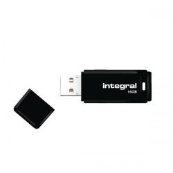 Stick Memorie Integral 16GB, USB 2.0, Black