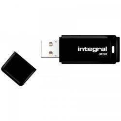 Stick Memorie Integral 32GB, USB 2.0, Black