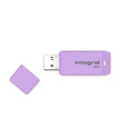Stick memorie Integral Pastel 16GB, USB 2.0, Lavender Haze