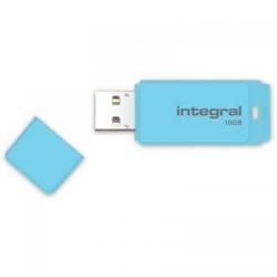Stick memorie Integral Pastel 16GB, USB 3.0, Blue Sky