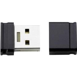 Stick Memorie Intenso Nano Micro Line, 4GB, USB 2.0, Black