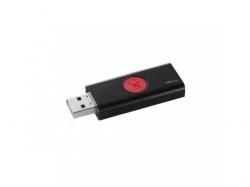 Stick Memorie Kingston DataTraveler 106, 16GB, USB 3.1, Black-Red