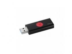 Stick Memorie Kingston DataTraveler 106, 64GB, USB 3.1, Black-Red