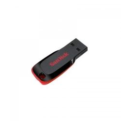 Stick Memorie SanDisk Cruzer Blade 64GB, USB2.0, Black/Red