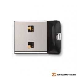 Stick memorie Sandisk Cruzer Fit 64GB, USB 2.0, Silver