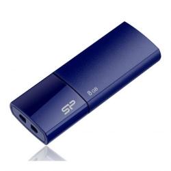 Stick Memorie Silicon Power Ultima 05, 8GB, USB 2.0, Deep Blue