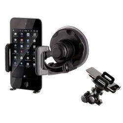 Suport Auto/ Bicicleta Tracer pentru Telefon P10, Black