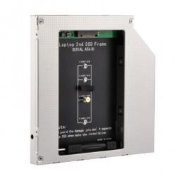 Suport montare Gembird Slim 5.25inch pentru NGFF (M.2) SSD, 12.7mm