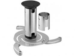 Suport proiector Beamerflex cu nivel variabil 130 sau 200mm, gri
