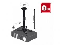 Suport proiector  Beamerflex3 cu nivel variabil 400-650mm, negru