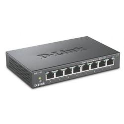 Switch D-Link DES-108, 8 porturi 10/100Mbps