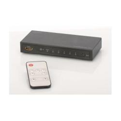 Switch KVM Digitus HDMI UltraHD 4K, 5xport